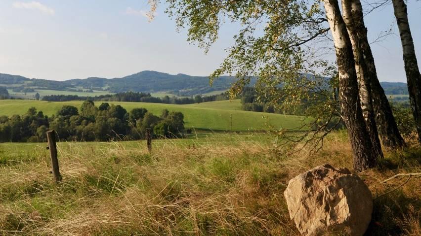 Podzimní krajina u Malont