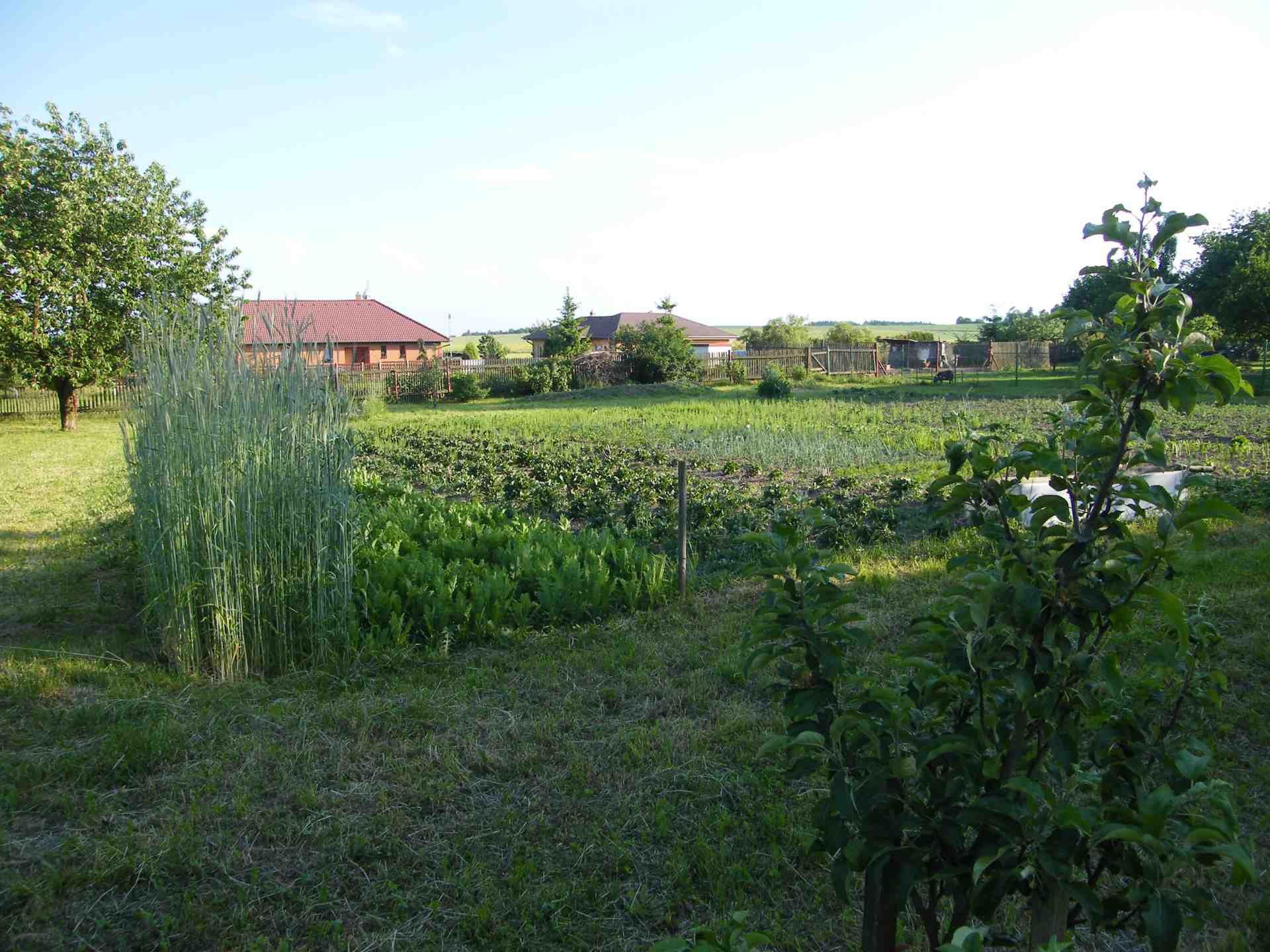 Zahrada Lazsko v Lazsku u Příbrami
