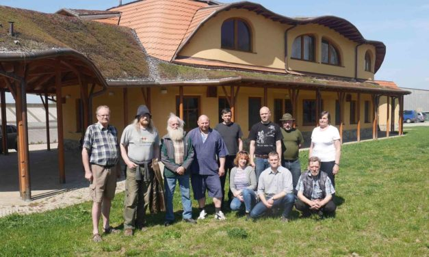 Estonští biodynamici na návštěvě vČeské republice.